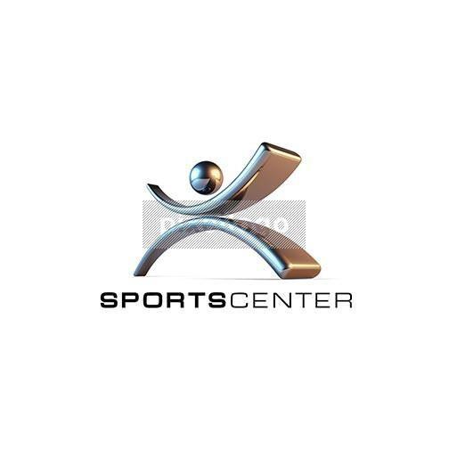 Sportsman logo - Iron Man logo