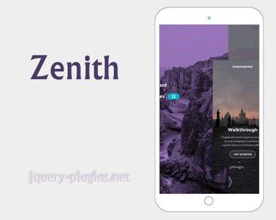 Zenith – Responsive Slider jQuery Plugin #slider #transition #responsive #responsiveSlider #jQuery