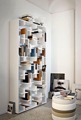 Bibliothèque contemporaine / par Studio Nendo / laquée - TARGET - arketipo