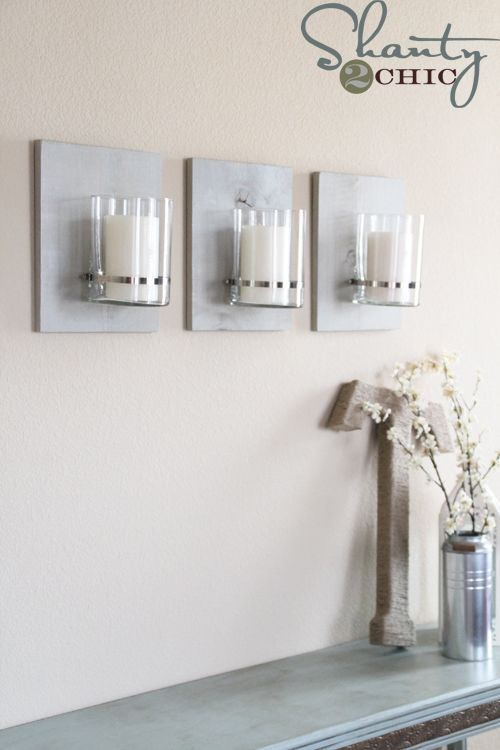 Industrial chic wall sconces tutorial