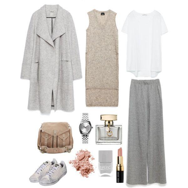 A fashion look from September 2015 by mina-nurminen featuring Zara, adidas, BDG, Nixon, Bobbi Brown Cosmetics, Gucci and Nails Inc.
