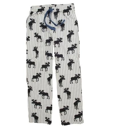 Moose Stripe Flannel Pajama Pants by Hatley