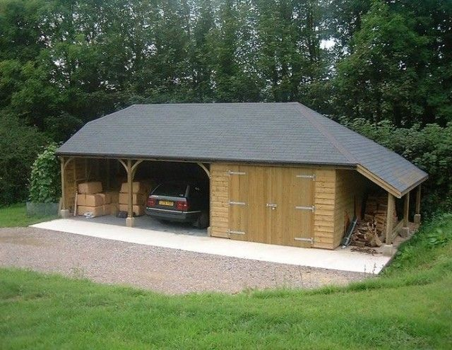 Attached Carport To House See 5 Top Designs Up To 6 Tips To Build Timber Frame Building Wooden Garage Carport