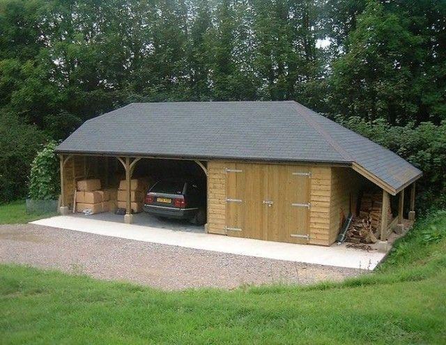 25 Inspiring Carport Ideas Attached To House Wood Carport Design Timber Frame Building Wooden Carports Timber Garage