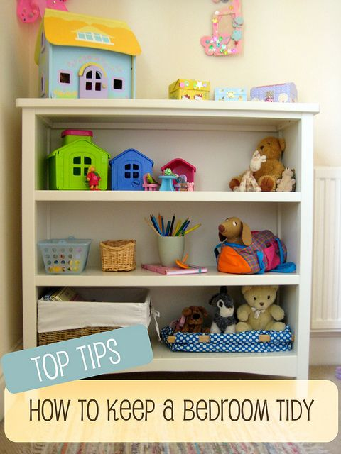 less is more: great tips on keeping a child's room tidy