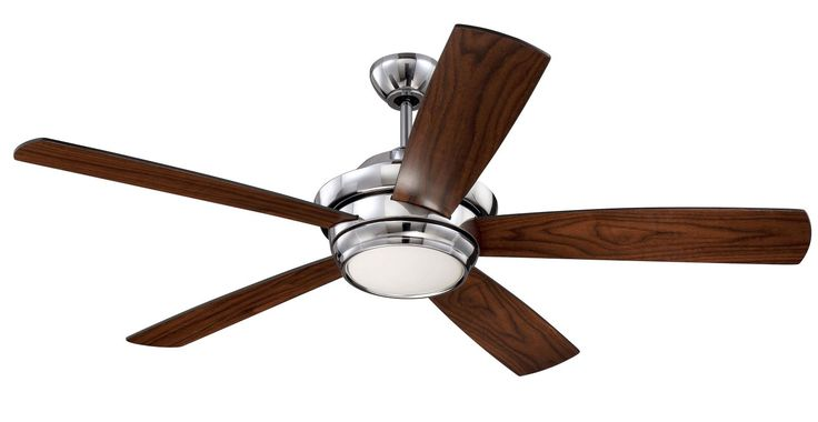 """Craftmade TMP525 Tempo 52"""" 5 Blade AC Motor Indoor Ceiling Fans with Light Kit I"""