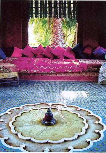 Salon Riad Marrakech Maroc !