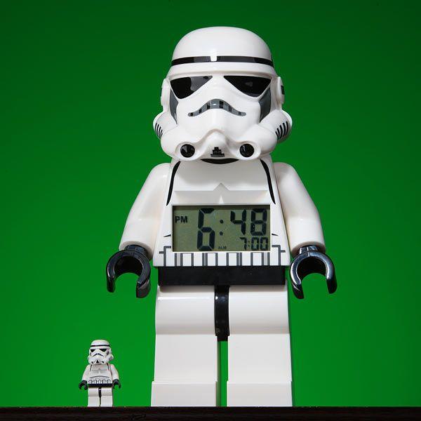 LEGO Star Wars Minifig Alarm Clock   Ufunk.net