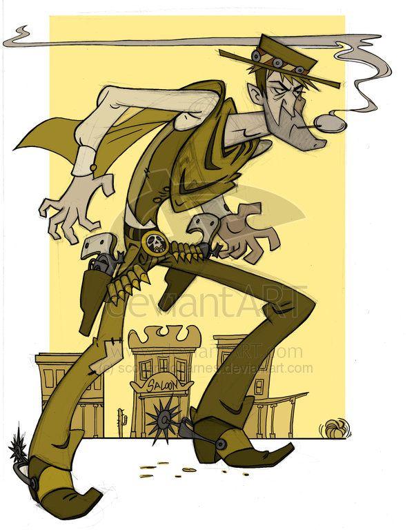 Bounty Hunter Wild West by scotlanddbarnes on deviantART