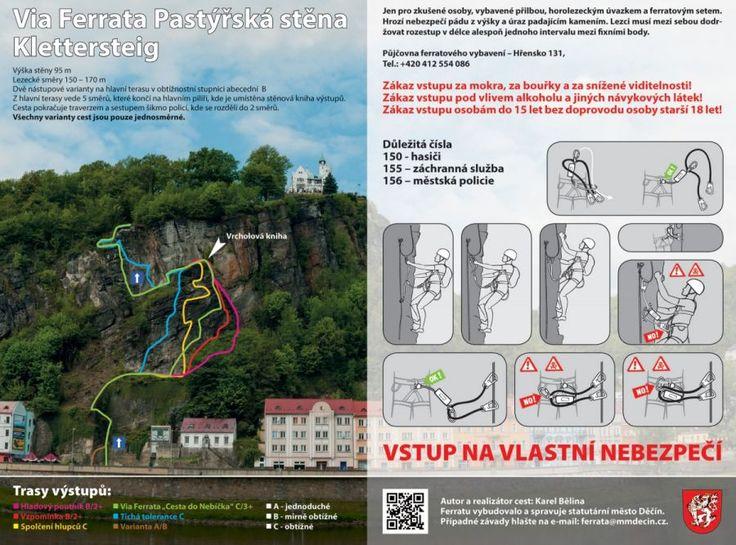 Via ferrata Pastýřská stěna Děčín - možnost dárkové poukázky | Horolezecká škola RockJoy