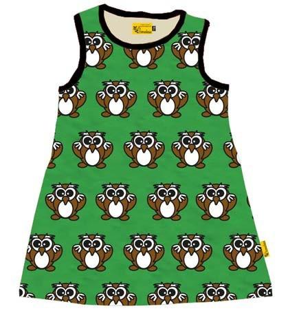 Be Timeless jurk uil groen