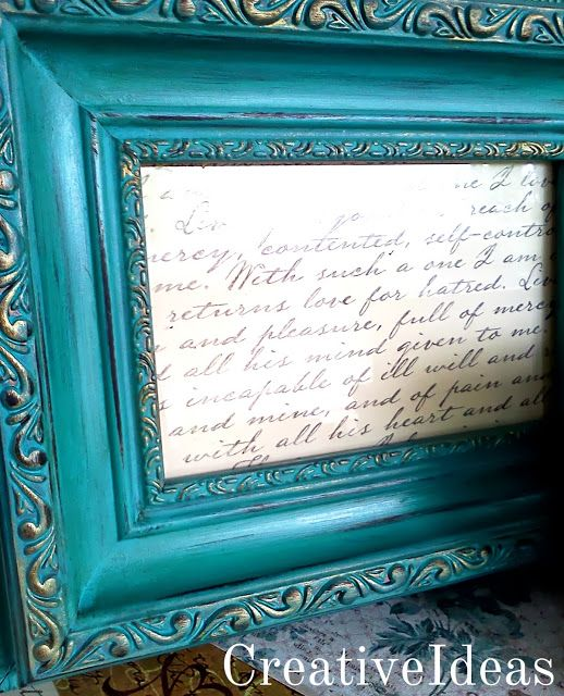 42 best painted picture frames images on pinterest for Bungalow style picture frames