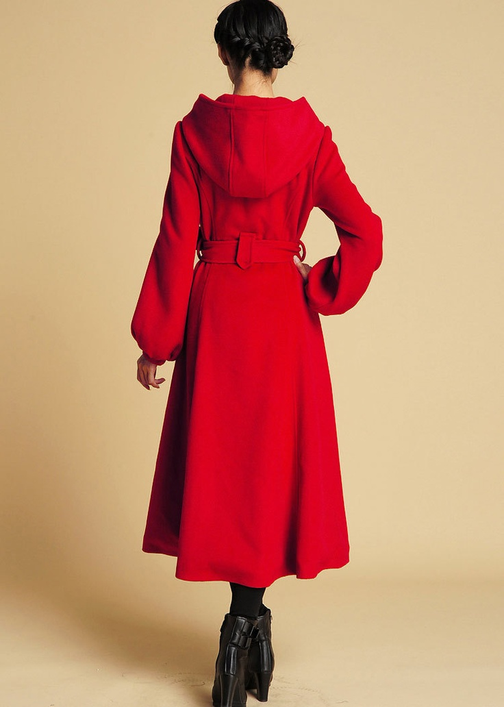 Best 25  Red wool coat ideas on Pinterest | Winter coats canada ...