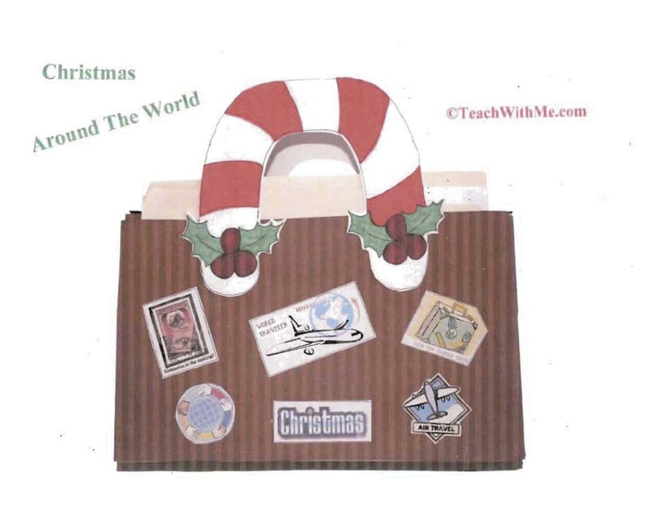 "Christmas Around The World Unit    Press the ""Click to View the Free Pages"" icon at the bottom of the page to download"