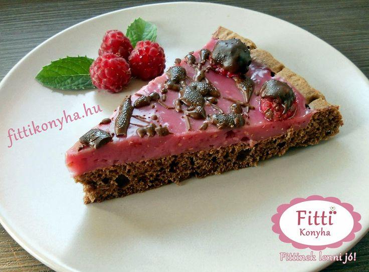 Fitti Konyha: Fitti málnakrémes torta recept