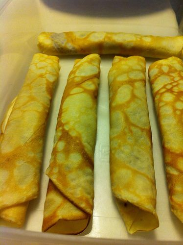Chilean Pancakes (Panqueques)