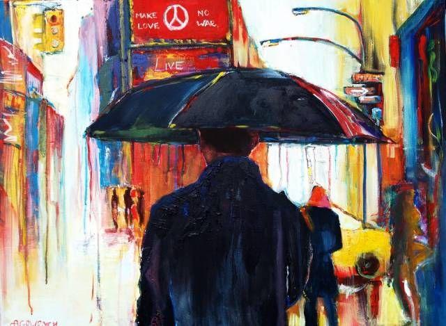 In the rain II Agata Gawrych