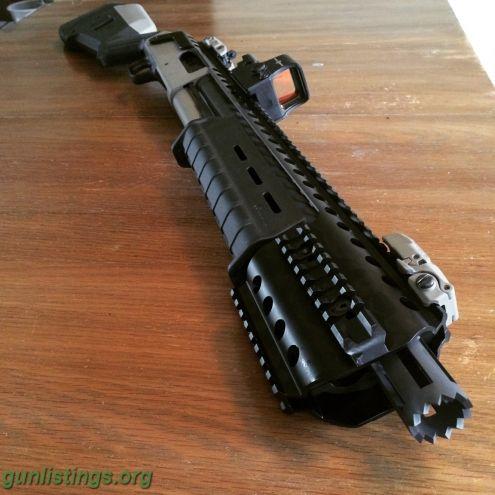 Shotguns CUSTOM Mossberg 500 Tactical With EXTRAS ...