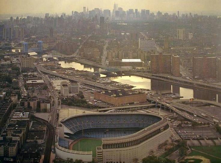 Madison Square Garden: Yankee Stadium In New York City Skyline