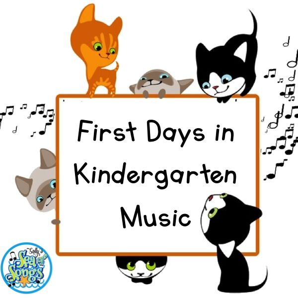 Kindergarten music is my favorite class of the day.  In my district, the first time students get to come for music class is in kinderg...