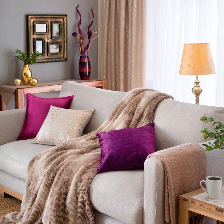 gardinen wohnzimmer beige. Black Bedroom Furniture Sets. Home Design Ideas