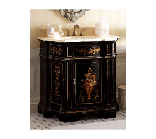 94 best images about beautiful bathroom vanities on pinterest fluted columns pedestal and for Tuscan bathroom vanity cabinets