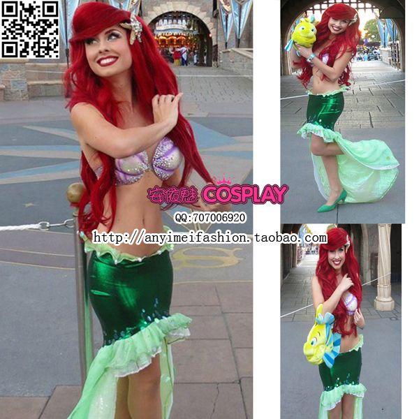Ariel Costume Diy Human