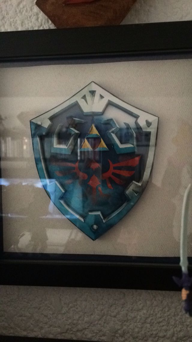 3D hylian shield
