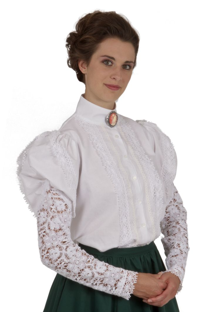Mira Victorian Blouse By Recollections