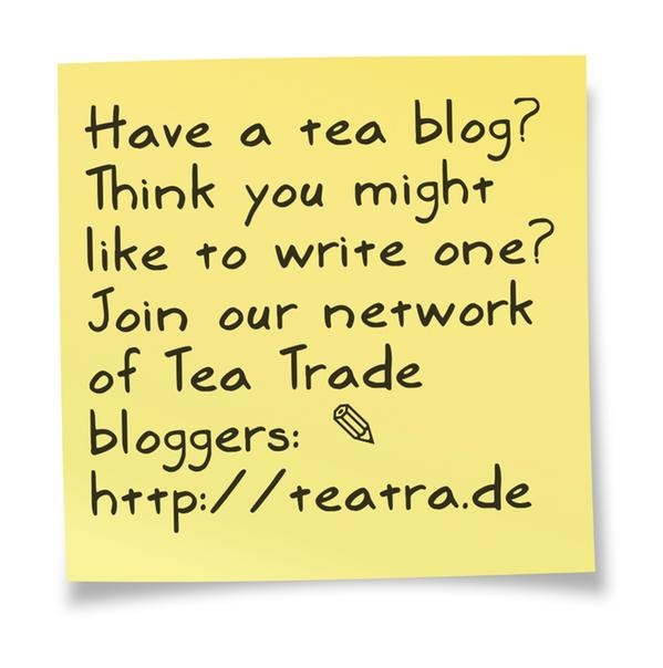 We're looking for tea bloggers like you on Tea Trade!  ✎  http://teatra.de (Sticky created on @pinstamatic)