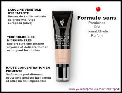 Younique par Chris: Correcteur de teint Mineral Touch Skin Perfecting ...