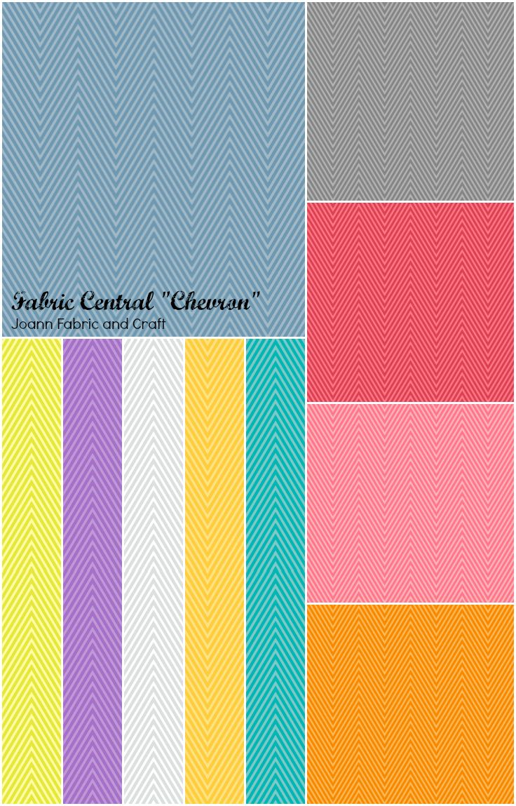Chevron print fabric joanns - This Is A Swatch Sheet Of The Fabric Central Chevron Collection At Joann Fabric And