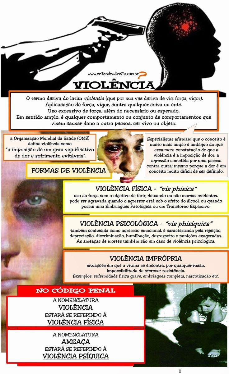 ENTENDEU DIREITO OU QUER QUE DESENHE ???: VIOLÊNCIA