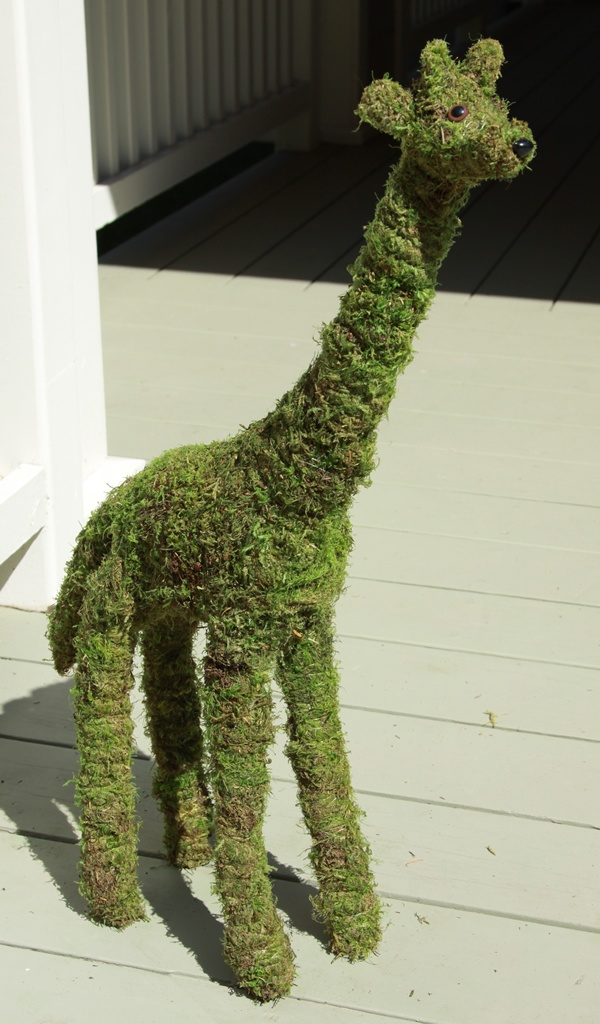 Mossed Topiary
