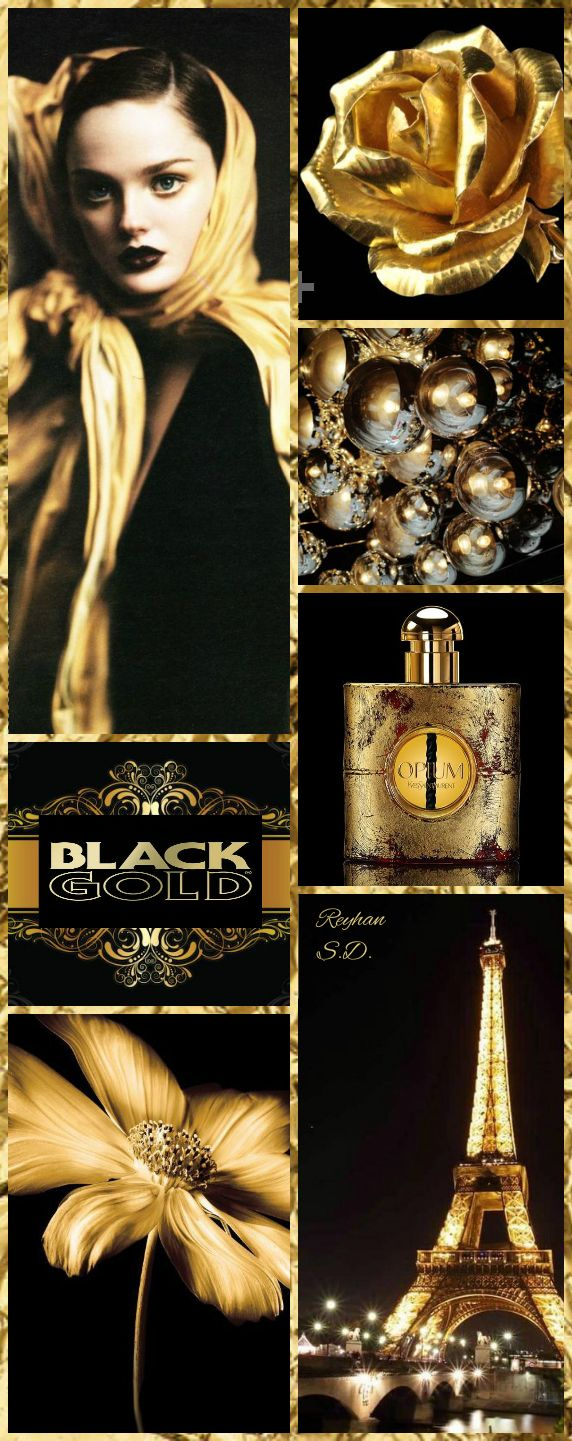 '' Black & Gold '' by Reyhan S.D.