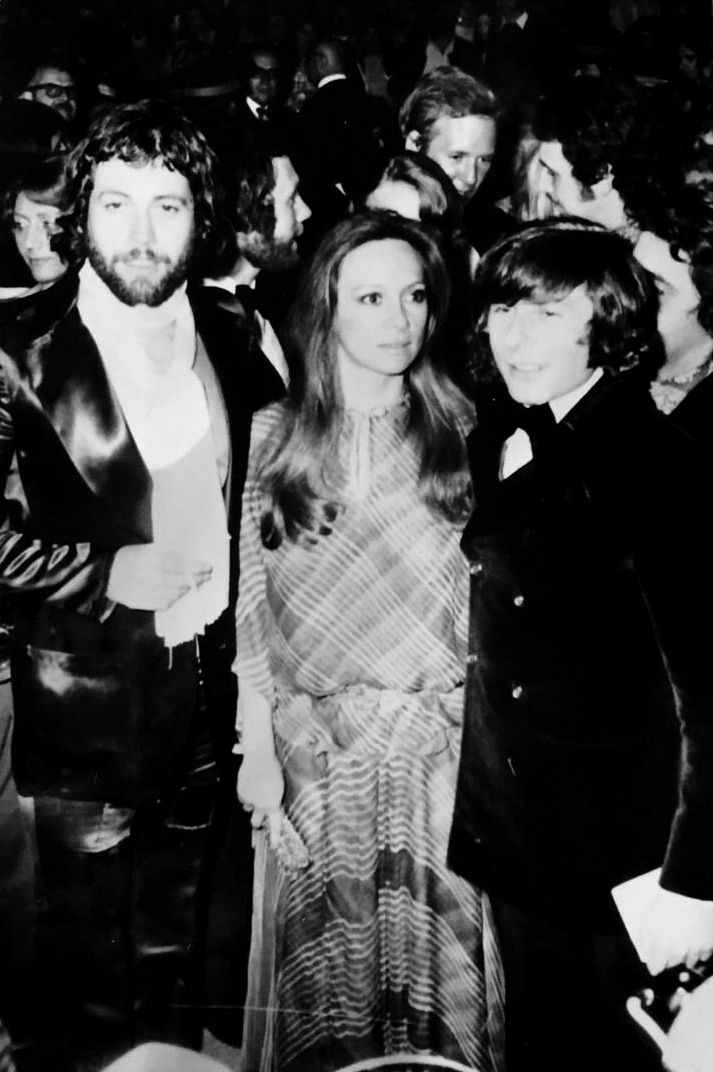 Roman Polanski, Francesca Annis & Jon Finch present their film Macbeth at The Cannes Film Festival, 13th May 1972.