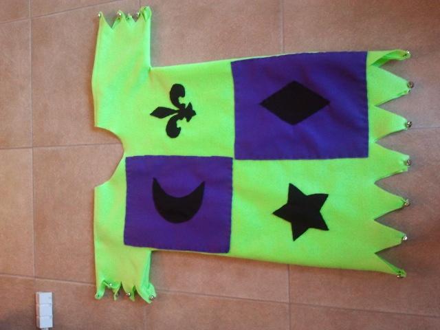 Mac's Renaissance Jester Costume for school.