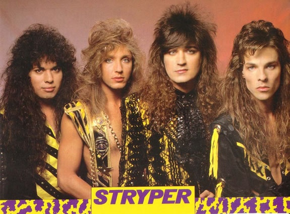 Stryper!! Funny now the men all look like women to me ...old age