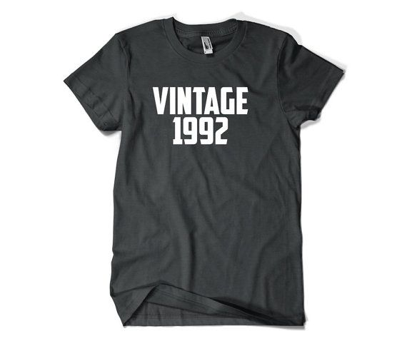 24th Birthday Gift-Vintage 1992-24th Birthday by SuperCoolTShirts