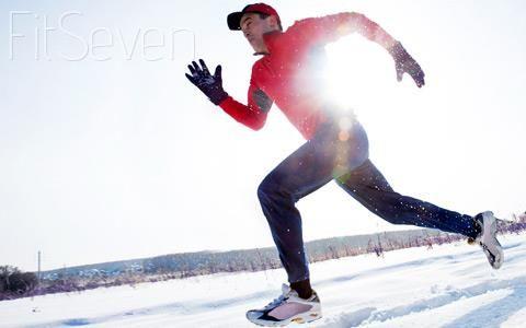 Зимнее снаряжение для бега штаны
