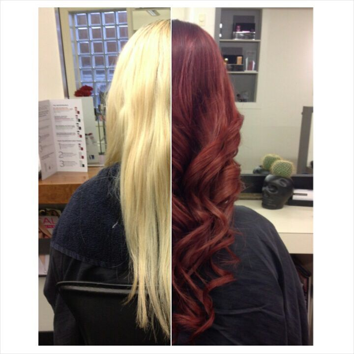 Gorgeous colour correction work from Salon Entrenous Stylist Carrie Lynn!