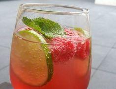Frambozen #mojito (zonder alcohol)