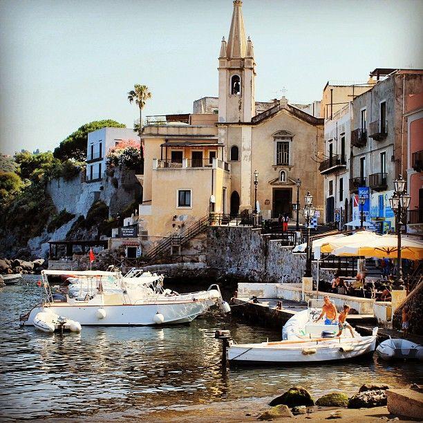 Marina Corta Lipari in Lipari, Sicilia