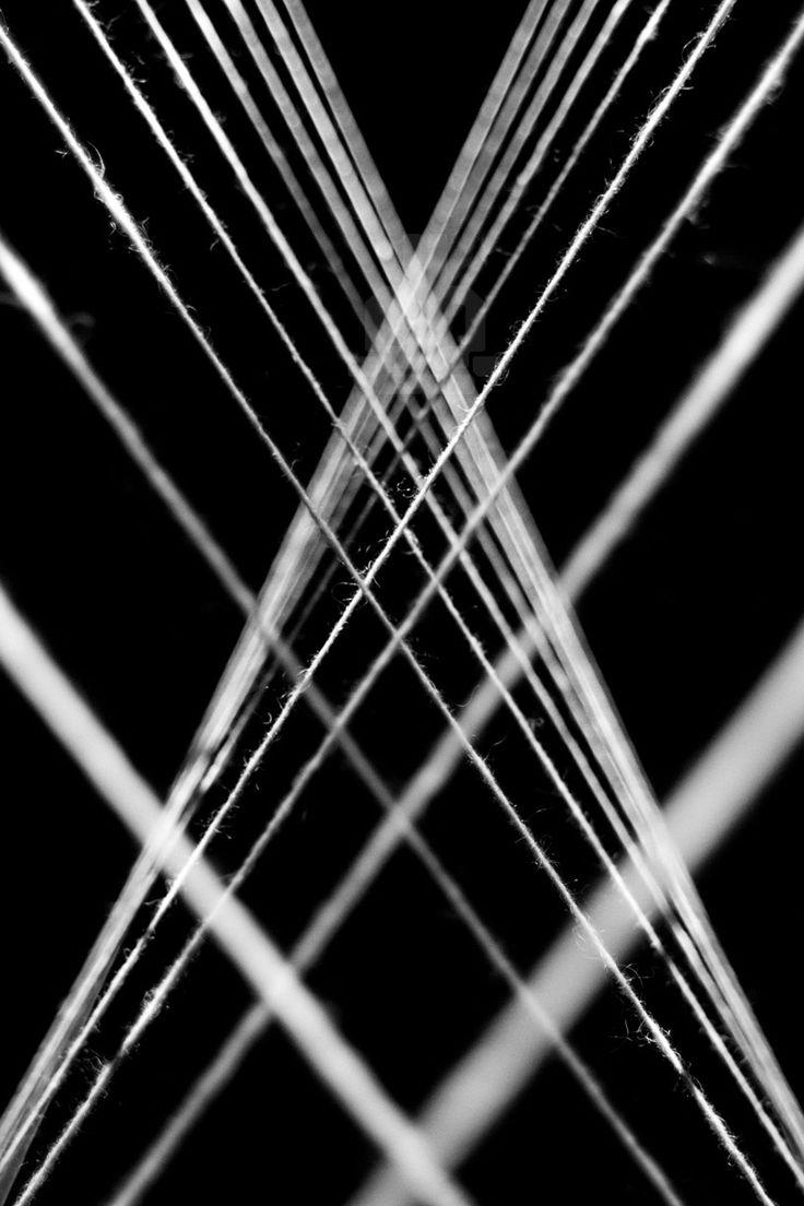bertrand lanthiez hypnotically visualizes music onto threads - designboom | architecture