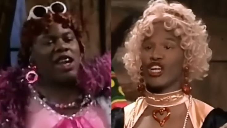 Jamie Foxx in Ugly Wanda and Her Uglier Sister - In living ...