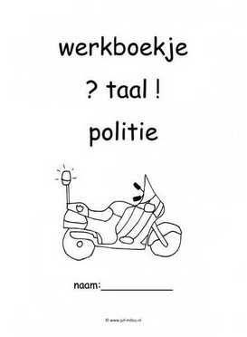 Werkboekje taal politie 2
