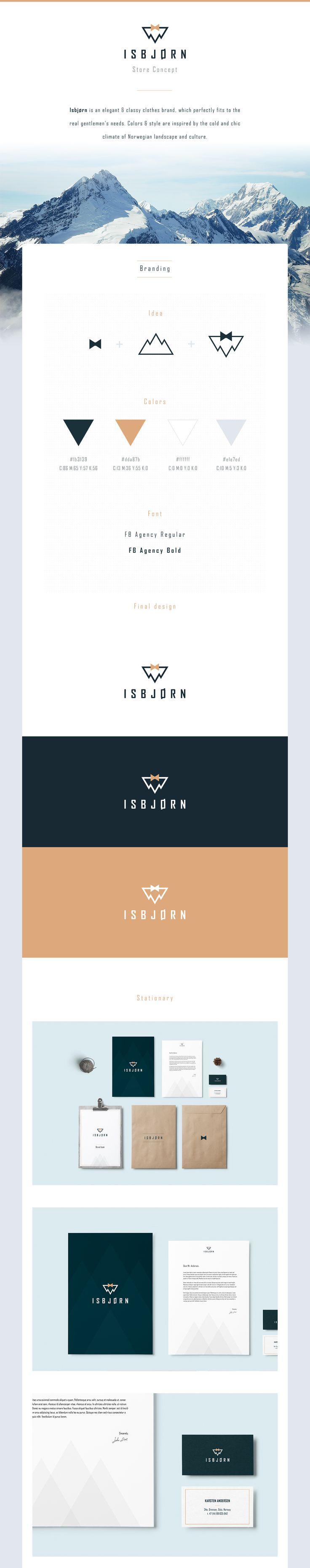 Isbjørn - Gentleman's Store on Behance