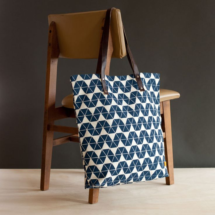 Oversize Bag Triangle Tragetasche Schultertasche - fair & fine