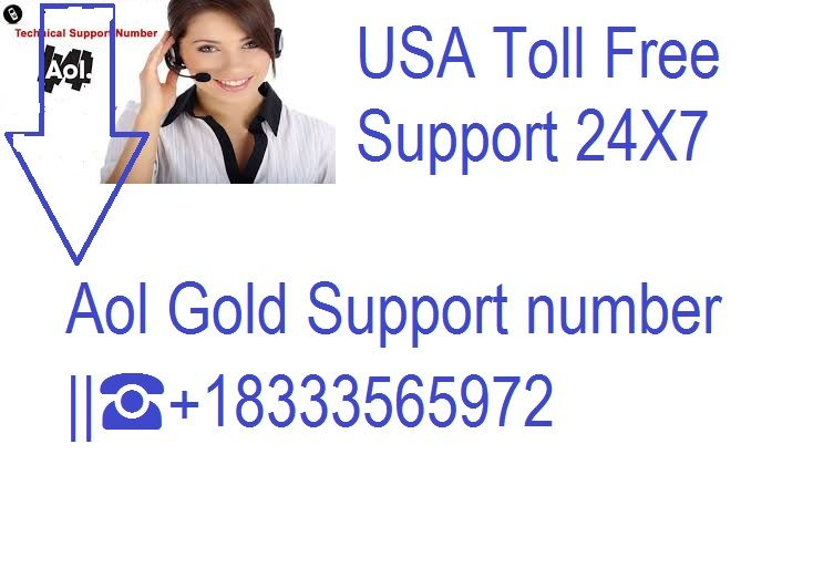 Aol gold support number 18333121648 aol tech support
