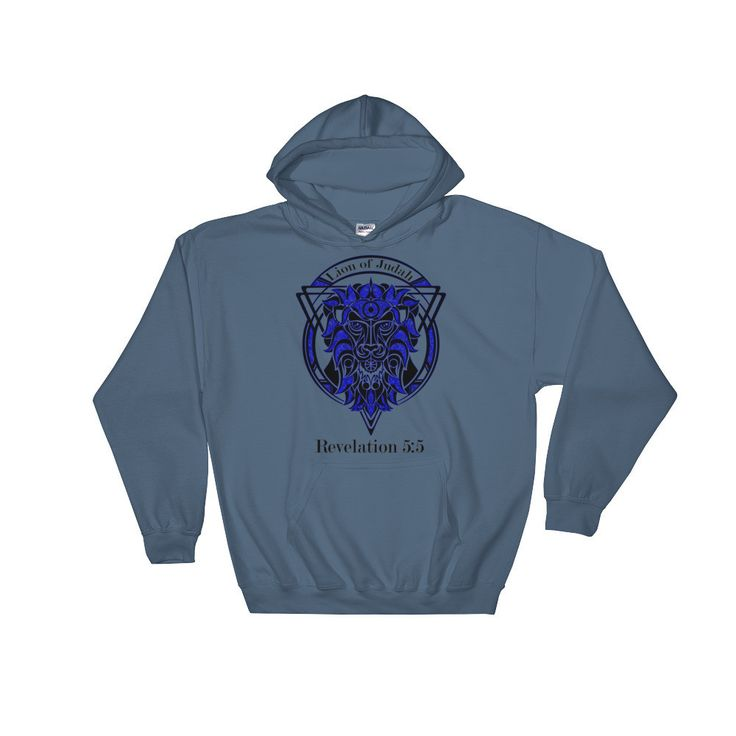Lion of Judah Hooded Sweatshirt